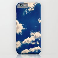 Blue And White iPhone 6 Slim Case
