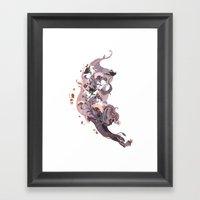 Luckless (Lavender) Framed Art Print