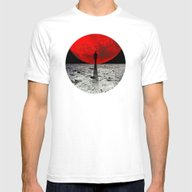 HOMESICKNESS Mens Fitted Tee White SMALL