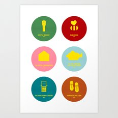 Wes Anderson Art Print