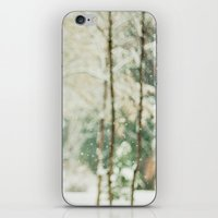 Falling Snow iPhone & iPod Skin
