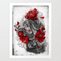 Hebi Art Print