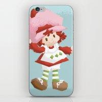 Strawberry Shortcake iPhone & iPod Skin