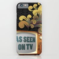 iPhone & iPod Case featuring As Seen on TV by Sarah Churchill