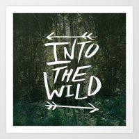 Into the Wild III Art Print