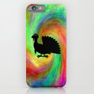 Silly Turkey Silhouette iPhone 6 Slim Case