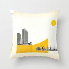 Rehabit 3 Throw Pillow