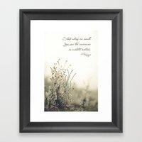 Ecstatic Motion Framed Art Print