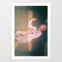 Escape Gravity And Into … Art Print