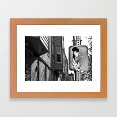 Cross Paths Framed Art Print