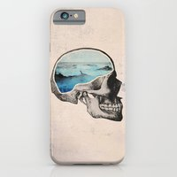 brain iPhone & iPod Cases featuring Brain Waves by Chase Kunz