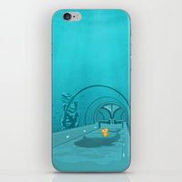 Gluttony - When the eye is bigger than the belly iPhone & iPod Skin