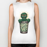Don't Let The Sunshine R… Biker Tank