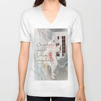 On With the Dance Unisex V-Neck