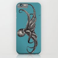 iPhone & iPod Case featuring Octopus by Ursula Rodgers