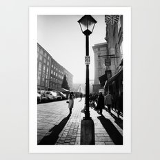 Salzburg NO4 Art Print