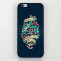 Slime De Los Muertos iPhone & iPod Skin