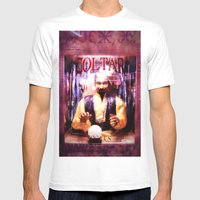 Zoltar Mens Fitted Tee White SMALL