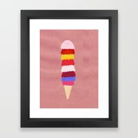I Scream, You Scream, We… Framed Art Print