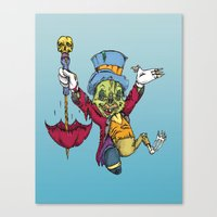 A fine conscience I turned out to be Canvas Print