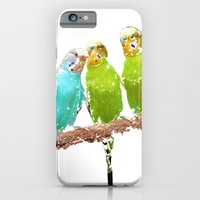 iPhone Cases featuring Parakeets by Regan's World