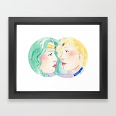 Star-Crossed Framed Art Print