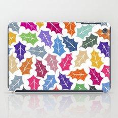 Colorful leaves II iPad Case