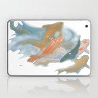 Koi {white} Laptop & iPad Skin