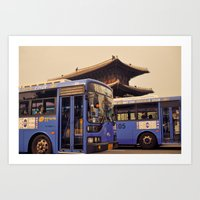 Dongdaemun Gate I Art Print