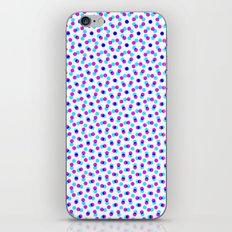 PINK & BLUE DOT iPhone & iPod Skin