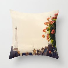 Side street Throw Pillow