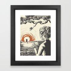 Once, I Hated the Sun Framed Art Print
