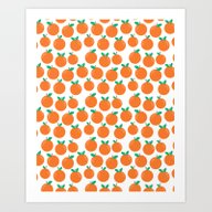 Art Print featuring Oranges - Sweet Fruit Su… by CharlotteWinter