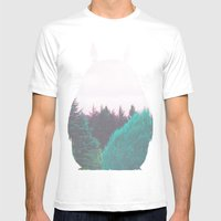 Troll of the Dreamland Forest Mens Fitted Tee White SMALL