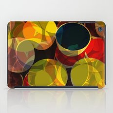 circle fractures iPad Case
