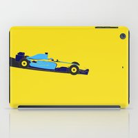 Alonso Renault F1 iPad Case