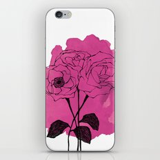 spray roses iPhone & iPod Skin