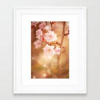 FLOWER - Charmed Moment Framed Art Print