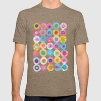 Fiesta Mens Fitted Tee Tri-Coffee SMALL