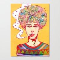 Oh No Ono Canvas Print