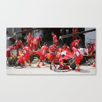 Team Work. Canvas Print