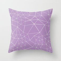 Segment Zoom Orchid Throw Pillow