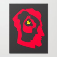I've been thinking about you (Second version) Canvas Print