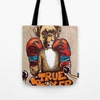 true boxer Tote Bag