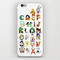 That's Alphabet Folks iPhone & iPod Skin
