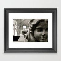 Little Sister Framed Art Print
