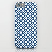 kanoko in monaco blue iPhone 6 Slim Case