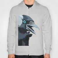 Corvus monedula has a stinking attitude Hoody