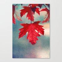 ĵurnalo Canvas Print