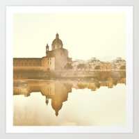 Florence Reflected Art Print